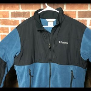 Columbia Mens XL Field Gear Fleece Jacket
